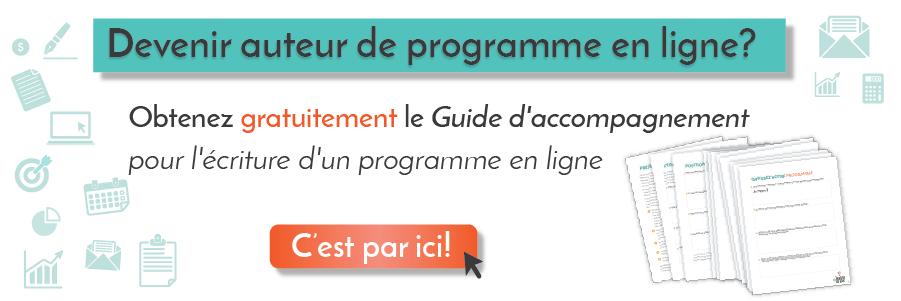 Guide pour faire son propre programme en ligne