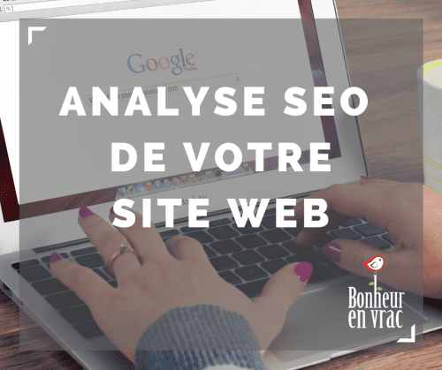 Analyse SEO site web